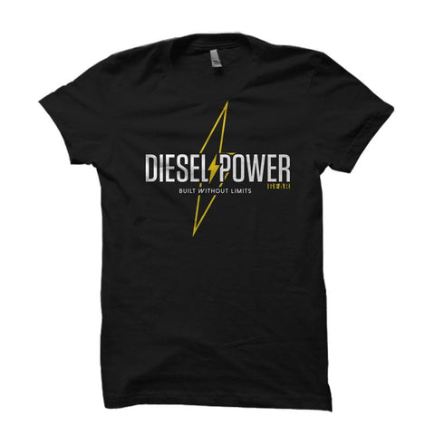 Built Without Limits , Shirt - Diesel Power Gear, Diesel Power Gear