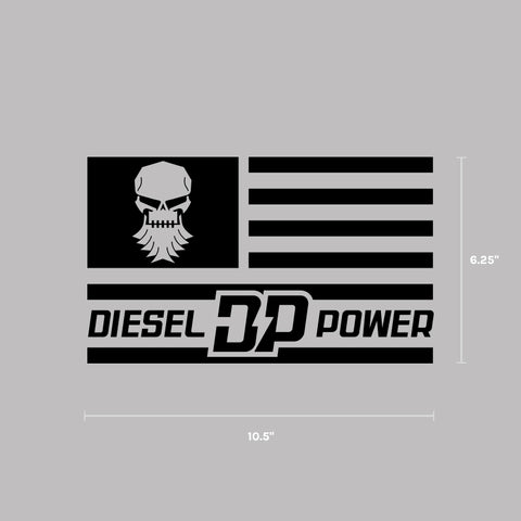 Black Flag Decal