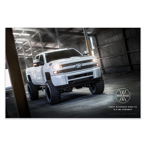 "White Magic Poster 36""x24"" , Poster - LogoConcepts, Diesel Power Gear"