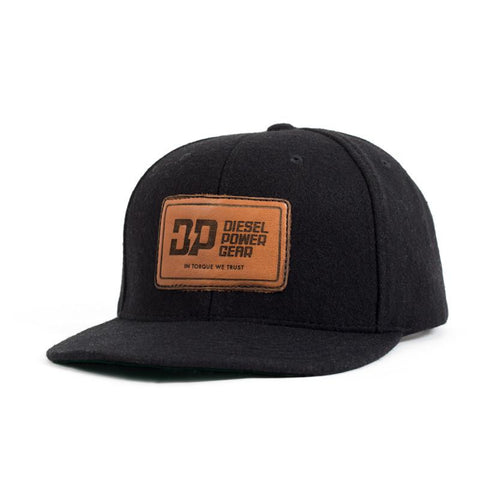 Torque We Trust Snapback Hat Black, Hat - UptownEmbroidery, Diesel Power Gear  - 1