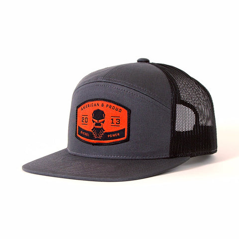 American & Proud Patch Hat