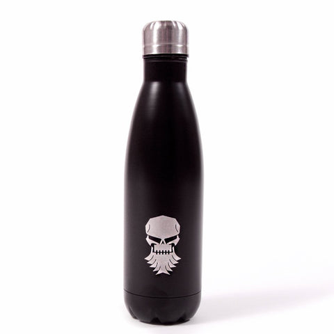 DP Skull vacuum sealed water bottle