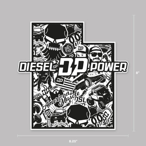 UT Diesel Crew Decal , Decals - Diesel Power Gear, Diesel Power Gear