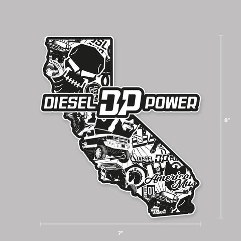 CA Diesel Crew Decal , Decals - Diesel Power Gear, Diesel Power Gear