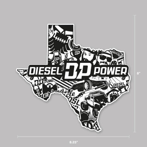 TX Diesel Crew Decal , Decals - Diesel Power Gear, Diesel Power Gear
