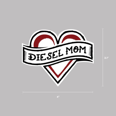 Diesel Mom Decal