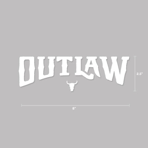 Outlaw Decal