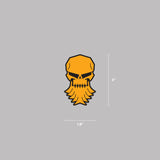 Bearded Skull Magnet