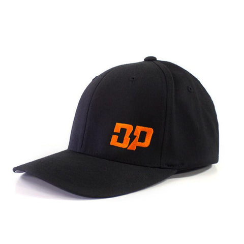DP Black and Orange hat , Hat - Diesel Power Gear, Diesel Power Gear  - 1