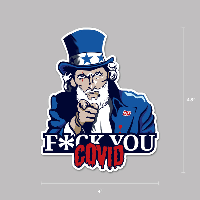 F*ck You Covid Decal
