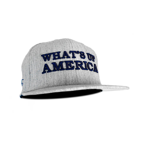 What's Up America (Heavy D) Heather Gray Snapback