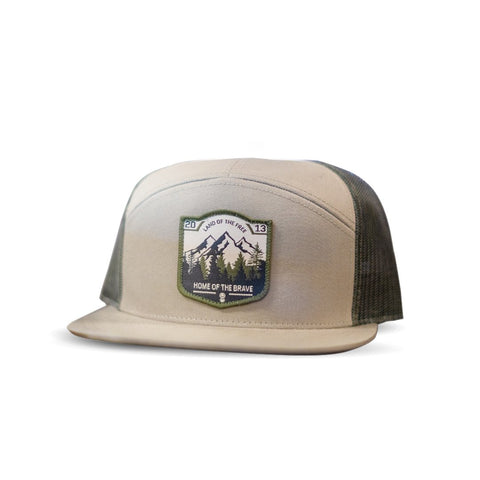 Land of the Free Patch Hat