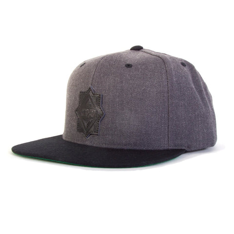 Maze Leather Patch Hat