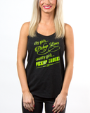 No Pickup Lines Tank Small, Womens Top - Diesel Power Gear, Diesel Power Gear  - 1