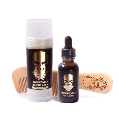 Woodsman Beard Care Set