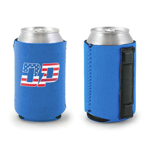 DP America Blue Can Cooler , Koozie - Diesel Power Gear, Diesel Power Gear