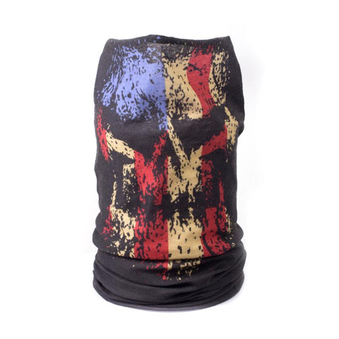 Faded Skull Neck Gaiter
