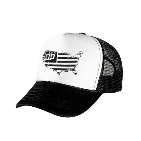 Land of the Free Trucker Hat , Hat - Diesel Power Gear, Diesel Power Gear