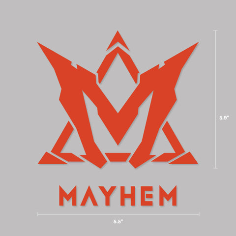 Mayhem Decal