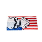 Flag Beard Skull Neck Gaiter