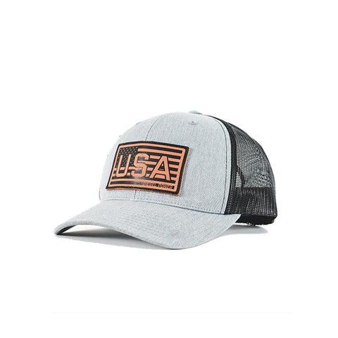 Branded USA patch hat