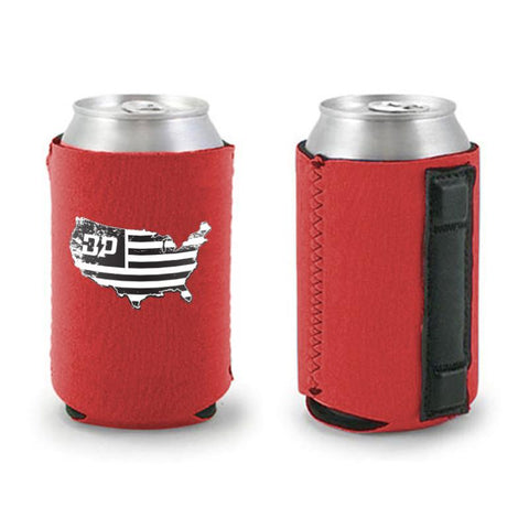 Diesel Nation Red Can Cooler , Koozie - Diesel Power Gear, Diesel Power Gear
