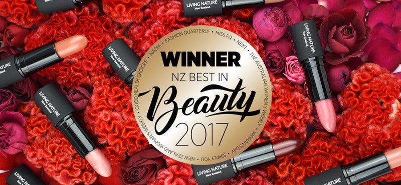 Best Natural Makeup - Lipsticks - Bauer Beauty Awards 2017 Winners