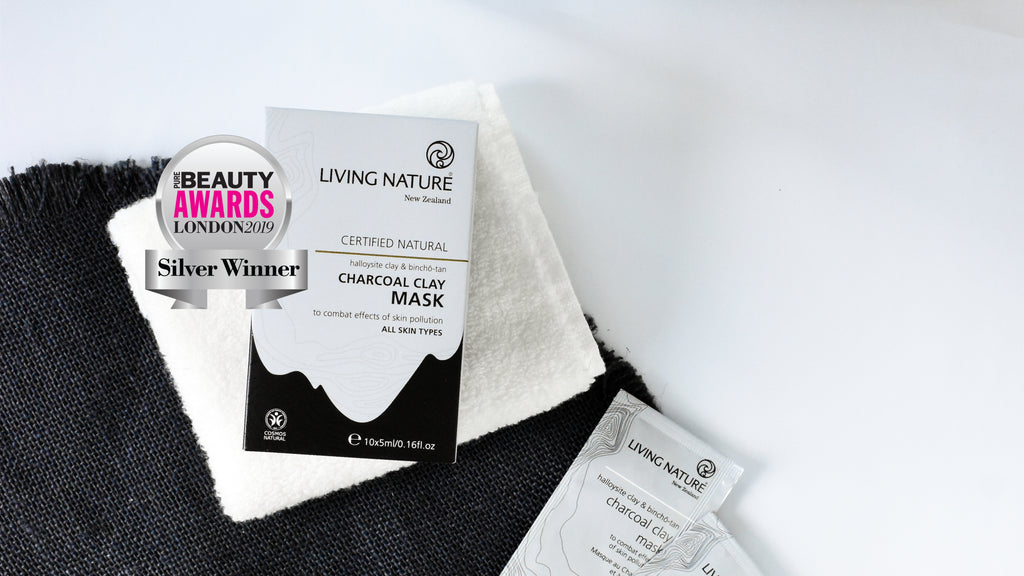 Charcoal Clay Mask wins Silver | Pure Beauty London Awards 2019