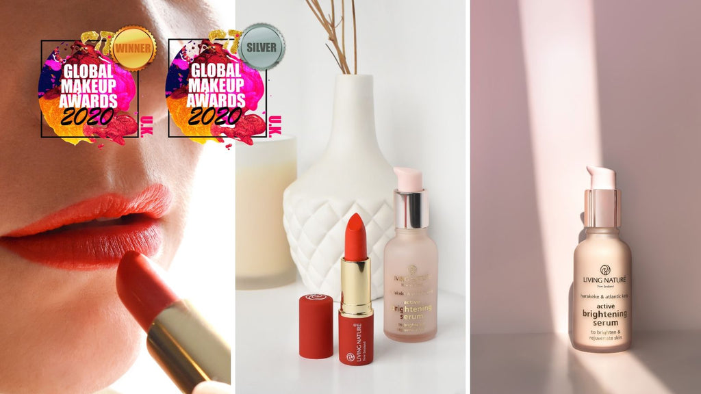 Electric Coral Lipstick & Active Brightening Serum are Winners!
