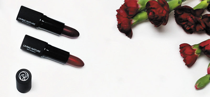 Introducing two Organic RED lipsticks to our range - Wild Fire & Pure Passion!