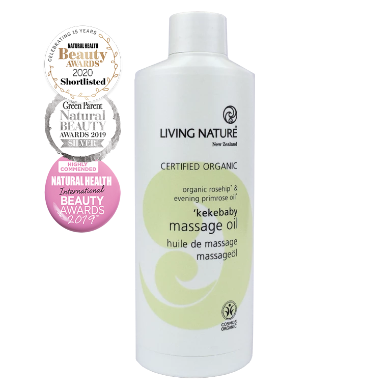 Living Nature Certified Organic Kekebaby Massage Oil