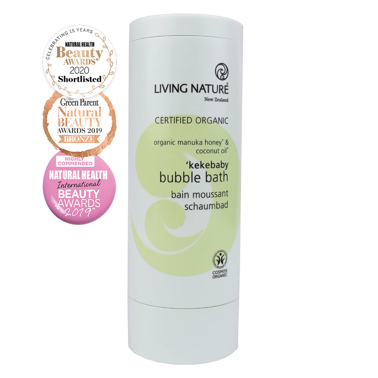 Living Nature Certified Organic Kekebaby Bubble Bath
