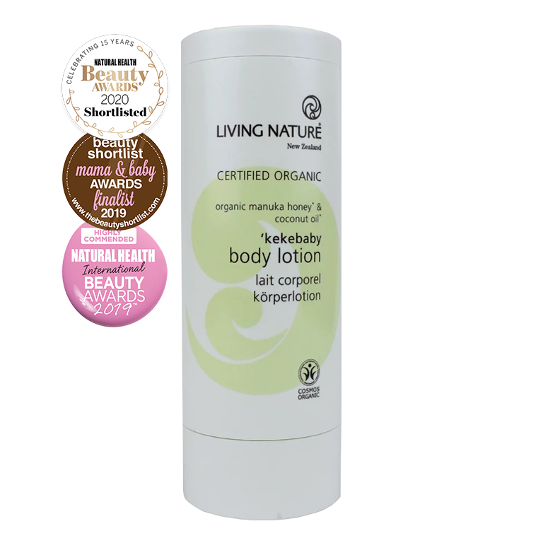 Living Nature Certified Organic Kekebaby Body Lotion