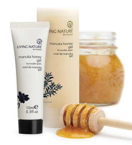Living Nature Natural Product Manuka Honey Gel