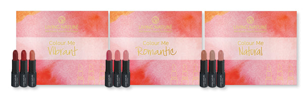 Living Nature Lipstick Pack
