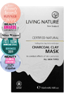 Living Nature Certified Natural Charcoal Clay Mask
