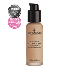 Living Nature Certified Natural Illuminating Foundation