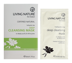Living Nature Certified Natural Deep Cleansing Mask