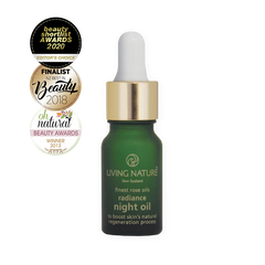 Living Nature Certified Natural Radiance Night Oil