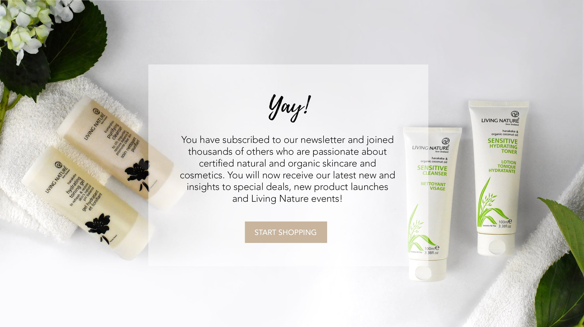 Living Nature - Certified Natural and Organic Skincare - Made in New Zealand