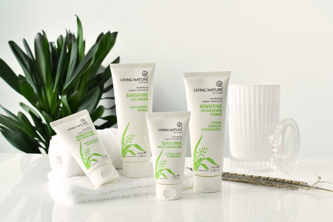 Living Nature Certified Natural Sensitive Skin Range
