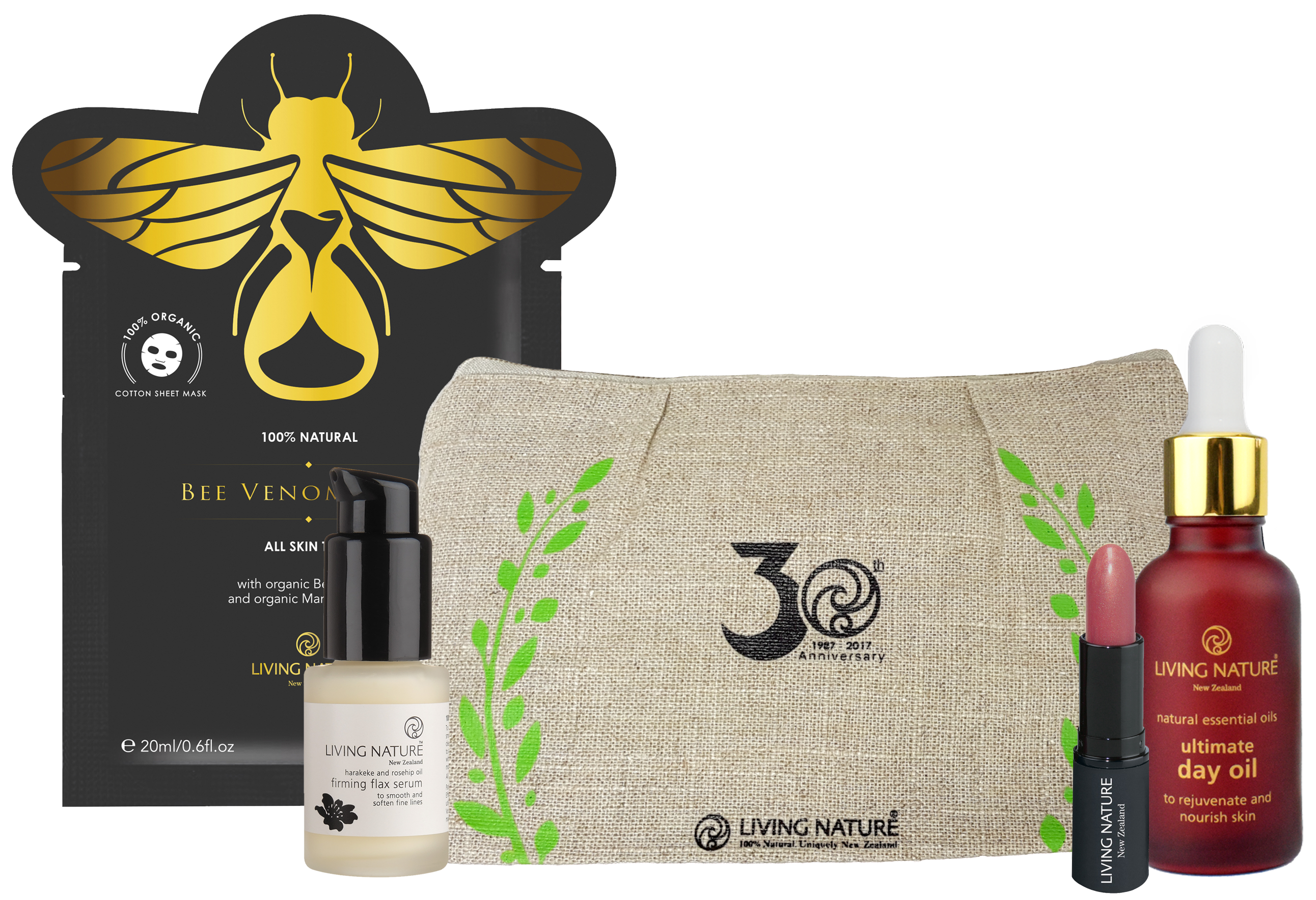 Living Nature Certified Natural Gift Pack