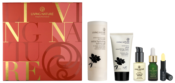 Living Nature Certified Natural Luxury Collection Gift Pack