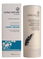 Living Nature Certified Natural Nourishing Hand Cream