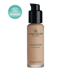 Living Nature Certified Natural Pure Shades Foundation