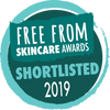 The Free From Skincare Awards 2019 Shortlisted Logo