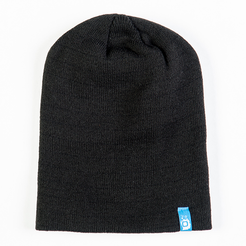Beanie: Solid Slouchy