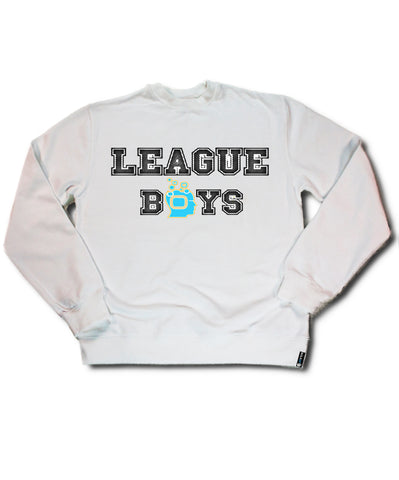 White Soulpro Crewneck League Boys