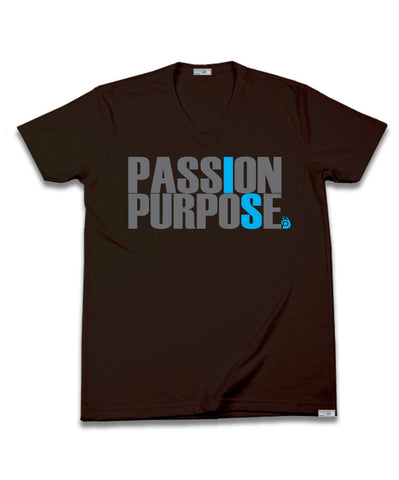 V-Neck: Passion is Purpose.