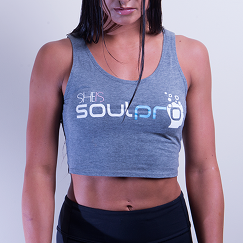 Crop Tank: She is Soulpro